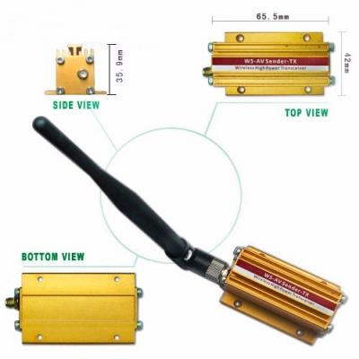 2.4G Wireless Digital AV Sender Transceiver