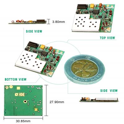TRW-HP4M5W 432~436MHz高功率雙向模組