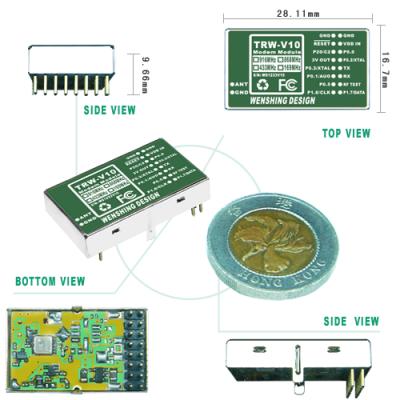 TRW-V10 169~916MHz Tranceiver Module