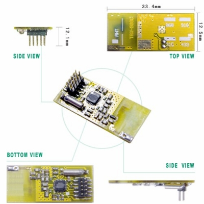 TRW-900C 315~916MHz Tranceiver Module