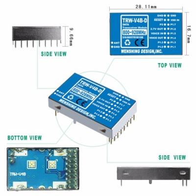 TRW-V4B-D 800~928MHz雙向模組