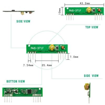 RWS-371F 超再生高頻接收模組