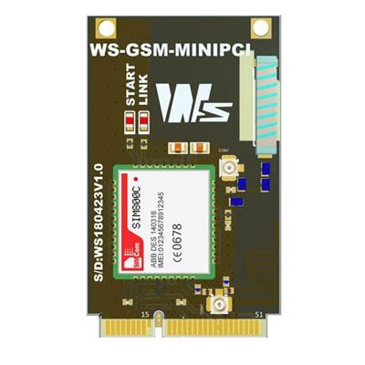 WS-GSM-MINIPCI GSM MODULE