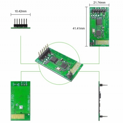 WS-WIFIMO 2.4GHz ISM BAND WiFi MODULE