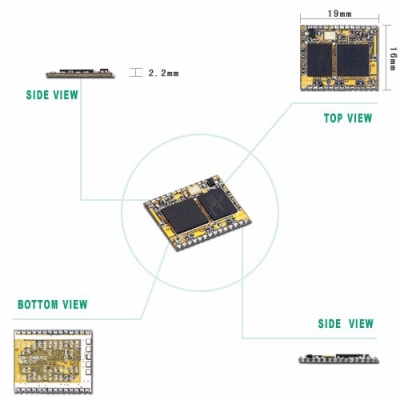TRW-24BUS2 2.4GHz Wireless Bluetooth Transceiver Module