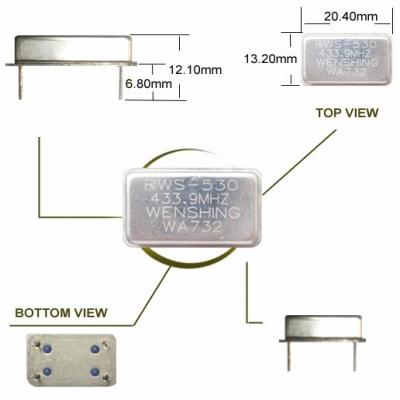 Wireless Super-regenerate Receiver Module