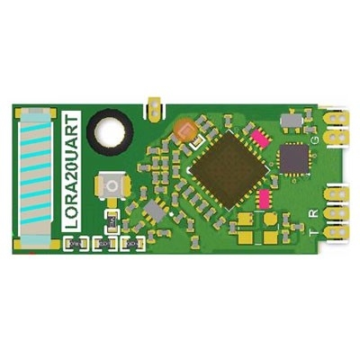TRW-LORA20UART LoRa 410~525MHz Low power consumption High sensitivity Transceiver Module