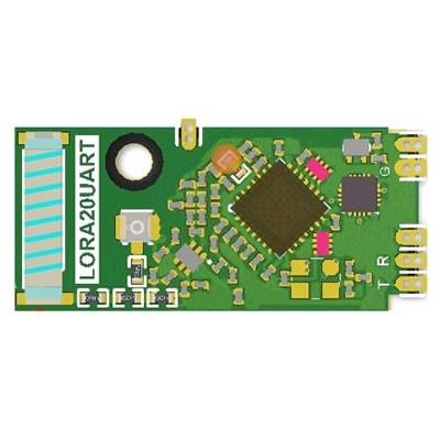 LoRa 410~525MHz高感度功耗低雙向模組(含MCU)