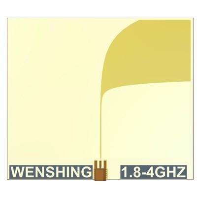 1.8~4GHz锥形槽天线